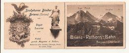 Brienz-Rothorn-Bahn - FAHRPLAN PRO SOMMER 1909 - Full Steam Ahead To The Brienzer Rothorn - Ferrovie