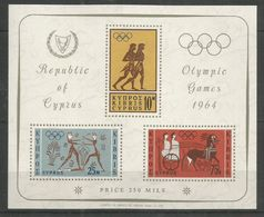 CYPRUS - MNH - Sport - Olympic Games - 1964 - Stamps