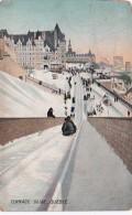 Winter Sports Terrace Slide Quebec Canada 1908 - Winter Sports