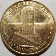 Là  Cité De La Mer Cherbourg  Le Redoutable 40 Ans 2007 - Monnaie De Paris