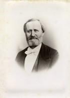 France Portrait De Mr De Nayville Homme Barbu Ancienne Photo 1880 - Old (before 1900)