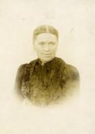 France Hazebrouck Femme Portrait Ancienne Photo Carte Cabinet Knecht 1905 - Old (before 1900)