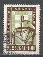 Portugal 1954. Scott #798 (U) Cadet And College Arms - 1910-... République