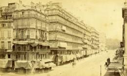 France Marseille Rue De Noailles Photographie Centrale Ancienne Photo Carte Cabinet Neurdein 1880's - Photographs