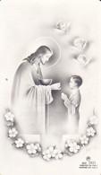 Andachtsbild Jesus Und Kind - Première Communion 1957 - 10*5,5cm  (33090) - Andachtsbilder