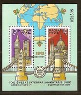 Hongrie Hongarije Ungarn 1988  Yvertn° Bloc 203 *** MNH Cote 7,50 Euro - Blocs-feuillets