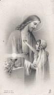 Andachtsbild Jesus Und Kind - Première Communion 1953 - 10*6cm  (33091) - Andachtsbilder