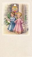 Andachtsbild Kleine Singende Engel - Première Communion - Durmenach 1963 - 10*6cm  (33092) - Andachtsbilder