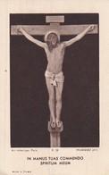 Jesus Am Kreuz - In Manus Tuas Commendo Spiritum Meum - 11*7cm  (33095) - Andachtsbilder