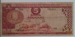 SOMALIA P. 20Aa 5 S 1978 Fine - Somalia