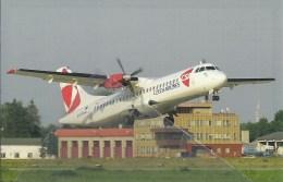 CSA Czech Airlines ATR 72 OK-XFD - 1946-....: Moderne