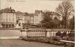 TOURNAI - Place Crombez - Oblitération De 1927 - Tournai