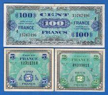 France  3  Billets - Treasury