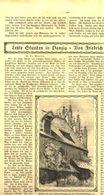 Letzte Stunden In Danzig (von Friedrich Hussong)  / Artikel, Entnommen Aus Zeitschrift / 1920 - Livres, BD, Revues