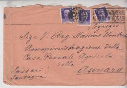 Regno 1935 Terzina Cent. 50 Asinara Sassari - 1900-44 Victor Emmanuel III
