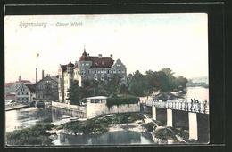 AK Regensburg, Partie An Der Oberen Wörth - Regensburg