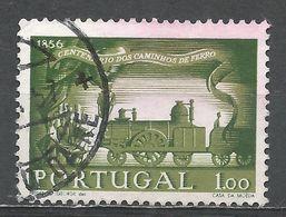 Portugal 1956. Scott #818 (U) Steam Locomotive 1856 - 1910-... République