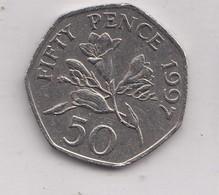 1997 50p Guernsey - Guernsey