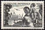 France Transport Bateau N°  543 ** Quinzaine Impériale - Ships