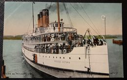 HC - Canadá - STEAMER  PRINCESS VICTORIA  Unused  Postcard - Boats
