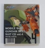 CD : MOBILE SUIT GUNDAM SEED SUIT CD Vol.4 Miguel X Nicol VICL-61074 - Music & Instruments
