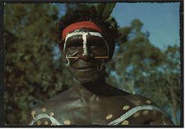 Australien / Australian Aborigines  -  Aboriginal Witch Doctor Of Northern Territory  -  Ansichtskarte  Ca.1975   (8244) - Océanie