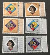 Rwanda - MNH** - 1973 - # 565/570 - Rwanda