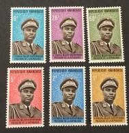 Rwanda - MNH** - 1974 - # 572/577 - Rwanda