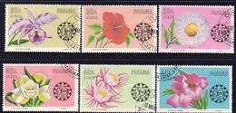 PANAMA, 1966 FLOWERS 6 FU - Panama