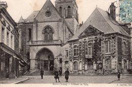 MARLE L'HOTEL DE VILLE 1904 TBE - France