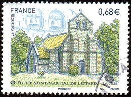 Oblitération Cachet à Date Sur Timbre De France N° 4967 - Eglise Saint Martial De Lestards (Corrèze) - France
