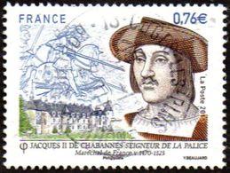 Oblitération Cachet à Date Sur Timbre De France N° 4955 - Jacques II De Chabannes - - France