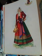 FOLKLORE  COSTUMI SARDEGNA  ILLUSTRATA CATINI A   N1960 GN21608 - Costumi