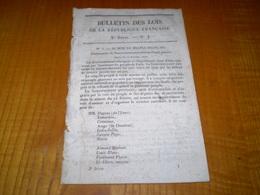 1848 Bulletin Des Lois N°1 Gouvernement Provisoire,abolition De La Royauté,proclamation De Le République,drapeau Tricolo - Decrees & Laws