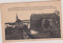(R7) SAONE ET LOIRE , VERZE , Tour Et Ruines Du Chateau - Other Municipalities