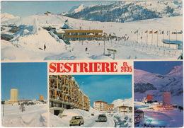 Sestriere: FIAT 127, CITROËN DS - Scuola Di Sci, Le 'Torri' Residence M. 2035 - Turismo