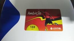 Angola-ambicao-(2)-(188utt)-31.12.2012-used+1card Prepiad Free - Angola