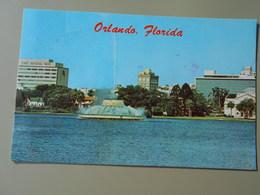 ETATS-UNIS FL FLORIDA  ORLANDO CENTENNIAL FOUNTAIN LAKE EOLA AND OVER CHANGING SKYLINE OF THE CITY BEAUTIFUL - Orlando