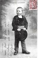 Pleyben. Jeune Garçon En Costume De Pleyben. - Pleyben