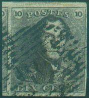 Epaulette 10 Centime Brune, Grand Voisin Et Petit Bdf.  Superbe - 12588 - 1849 Epaulettes