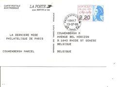 Expositions Philatéliques - Philexfrance 89 ( Carte Commémorative De France Du 13/07/1989 Avec Cachet De L'exposition à - Philatelic Exhibitions