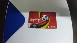 Angola-espirito-(5)-(125utt)-31.12.2012-used+1card Prepiad Free - Angola