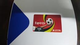 Angola-espirito-(6)-(125utt)-31.12.2013-used+1card Prepiad Free - Angola