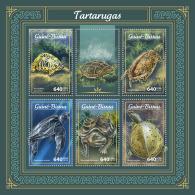 GUINEA BISSAU 2018 MNH** Turtles Schildkröten Tortues M/S - IMPERFORATED - DH1805 - Schildkröten