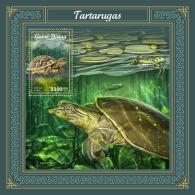 GUINEA BISSAU 2018 MNH** Turtles Schildkröten Tortues S/S - IMPERFORATED - DH1805 - Schildkröten