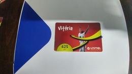 Angola-vitoria-(11)-(625utt)-31.12.2014-used+1card Prepiad Free - Angola