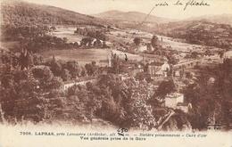 Lapras, Près Lamastre (Ardèche), Cure D'air - Vue Générale Prise De La Gare - Edition Margerit-Brémond - France