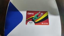 Angola-garra-(13)-(625utt)-31.12.2014-used+1card Prepiad Free - Angola