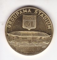 Jeton Médaille Monnaie De Paris MDP Groupama Stadium Olympique Lyonnais Ol Lyon 2018 - Monnaie De Paris