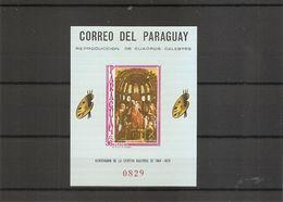Religieux ( BF 96 XXX -MNH- Du Paraguay) - Religione